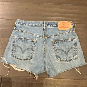 Levi's Shorts - Levi's 501 shorts from urban outfitters